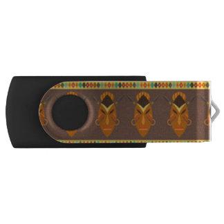 Clé USB Conception africaine d'impression de motif de