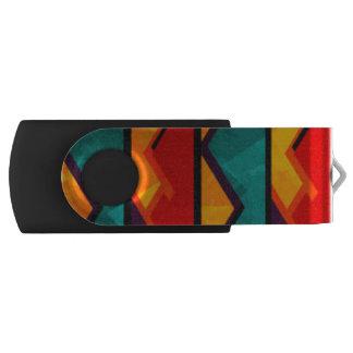 Clé USB Copie africaine rouge verte orange