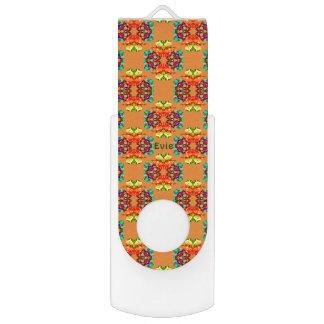 Clé USB ~ de Pattern~Personalised EVIE de fractale de