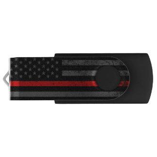 Clé USB Drapeau américain affligé dénommé par