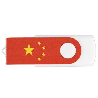 Clé USB Drapeau chinois patriotique