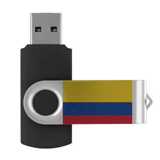 Clé USB Drapeau de la Colombie
