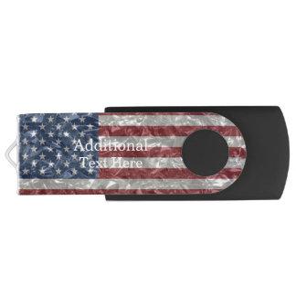 Clé USB Drapeau des Etats-Unis - froissé