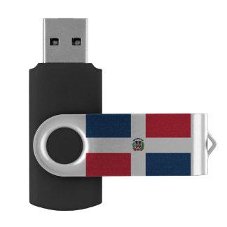 Clé USB Drapeau dominicain