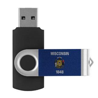 Clé USB Drapeau du Wisconsin