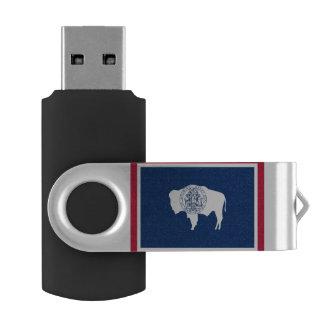 Clé USB Drapeau du Wyoming
