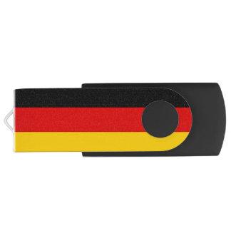 Clé USB Drapeau patriotique de l'Allemagne personnalisable