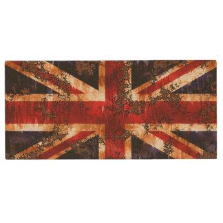 Clé USB Drapeau patriotique rouillé du Royaume-Uni