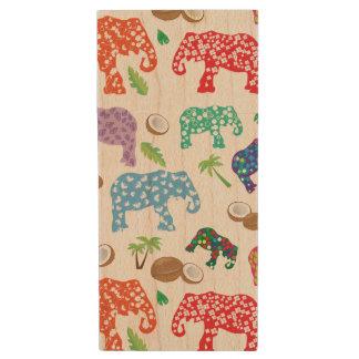 Clé USB Éléphants tropicaux