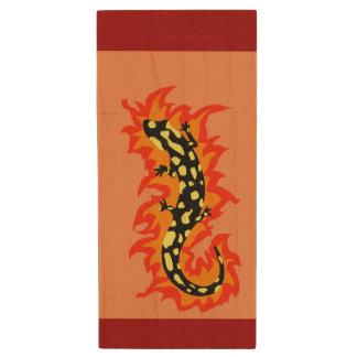 Clé USB Flamber de salamandre