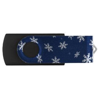 Clé USB Flocons de neige