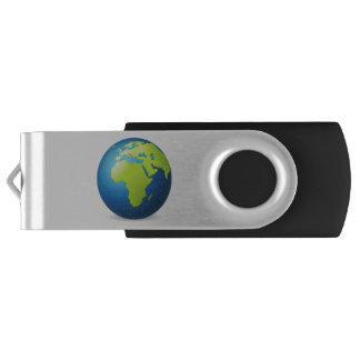 Clé USB Globe de la terre l'Europe Afrique - Emoji