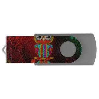 Clé USB Hibou coloré mignon