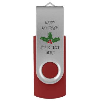 Clé USB Joyeuse commande faite sur commande d'instantané