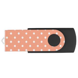Clé USB Le pois saumoné de coucher du soleil customise de