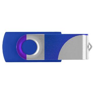 Clé USB Le pourpre bleu génial forme 4Johnny