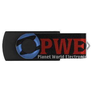 Clé USB L'électronique du monde de planète, 16 gigaoctets,