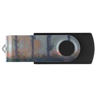 Clé USB Les quatre arbres par Claude Monet
