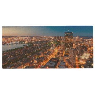 Clé USB L'horizon de Boston au crépuscule