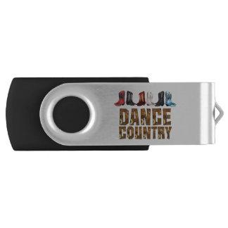 Clé USB Ligne danse de pays de PIÈCE EN T