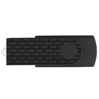 Clé USB Maille 3D noire