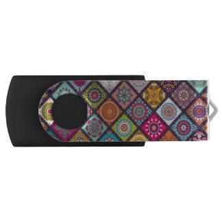 Clé USB Mandala marocain coloré