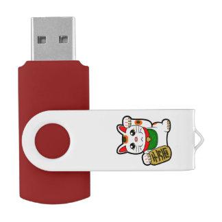 Clé USB Maneki Neko : Chat chanceux japonais