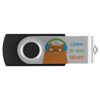 Clé USB Mignon frais drôle moderne de musique vibrante de