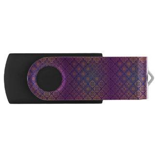 Clé USB Motif antique royal de luxe floral