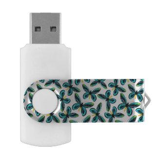 Clé USB Motif de papillon birdwing de la Reine Alexandra s
