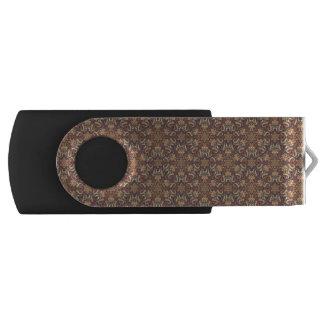 Clé USB Motif floral ethnique abstrait coloré De de