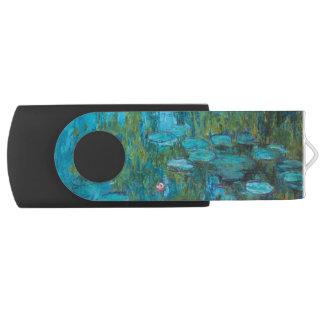 Clé USB Nénuphars Nymphéas GalleryHD de Claude Monet
