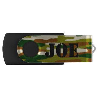 Clé USB Nom de coutume de camouflage