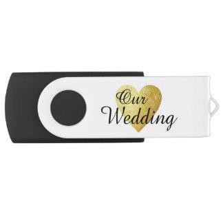 Clé USB nos photographies de mariage