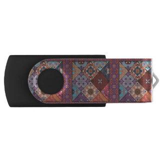 Clé USB Ornement vintage de talavera de mosaïque