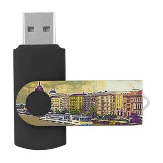 Clé USB Peinture hongroise du Parlement