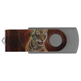 Clé USB Petit bébé mignon de tigre
