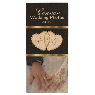 Clé USB Photos de mariage de jeunes mariés