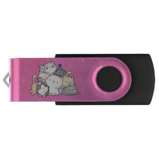 Clé USB Pile des chatons