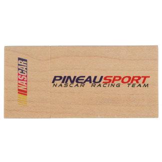 Clé USB Pineau Sport NRT en Érable Clé USB 3.0 En Bois
