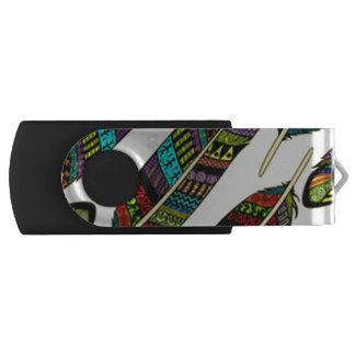 Clé USB Plumes africaines