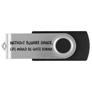 Clé USB Sans danse carrée