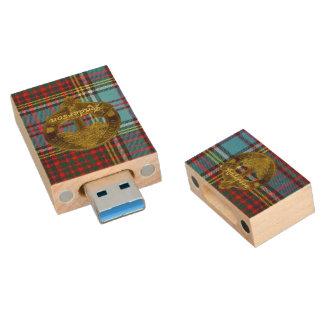 Clé USB Tartan et motif Flashdrive de clan d'Anderson