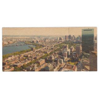 Clé USB Vue aérienne de Boston