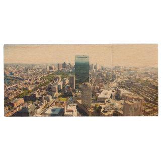 Clé USB Vue aérienne de Boston 2