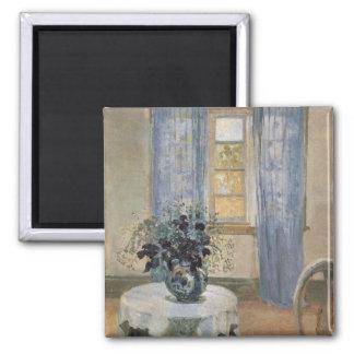 Clématite bleue d'Anna Ancher dans le studio de l' Aimants Pour Réfrigérateur