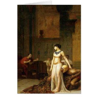 Cléopâtre et César Cartes