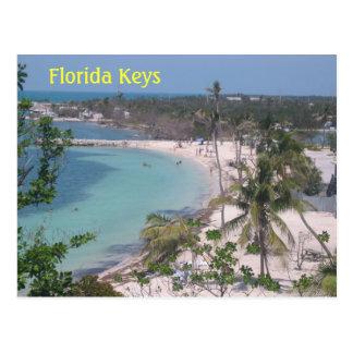 Clés de la Floride Carte Postale