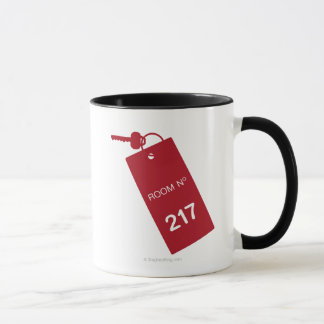 Clés de la pièce 217 mugs