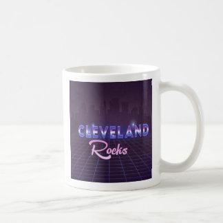 Cleveland bascule la tasse de café de style des